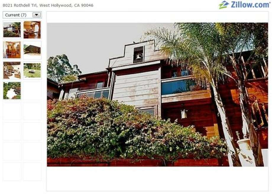 Love Street home: Don't you love it madly? This is the home of the Doors' late lead singer, Jim Morrison, where he lived in the 1960s with his girlfriend, Pam Courson. It is now for sale for $1,199,000.
