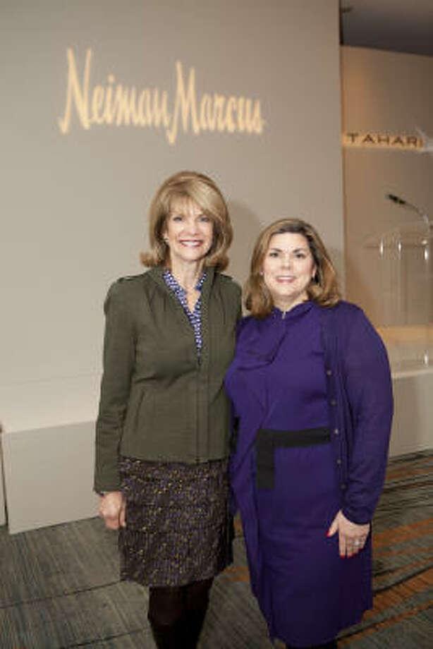 Kim Tutcher, left, and Lesha Elsenbrook Photo: Jenny Antill