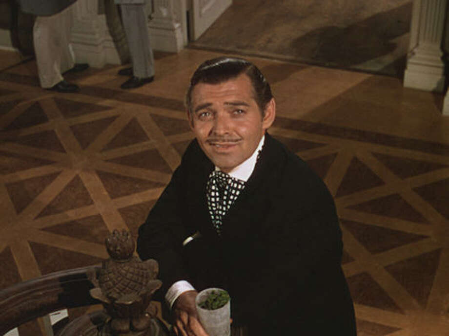 """No one can forget the words of Rhett Butler (Clark Gable) in Gone With the Wind: """"Frankly, my dear, I don't give a damn."""" Photo: MGM"""