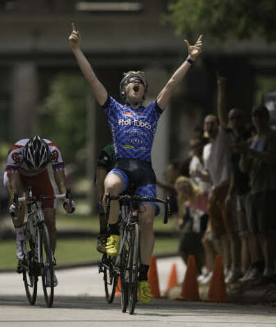 Houston's Lawson Craddock, the best junior cyclist in the U.S. last year, has been in Europe with the U.S. cycling team since mid-March. Photo: Scott Corron
