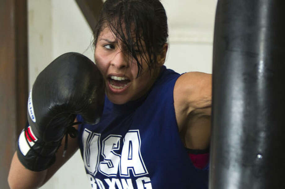 Marlen Esparza is the No. 1-ranked U.S. women's flyweight boxer. Photo: Brett Coomer, Chronicle