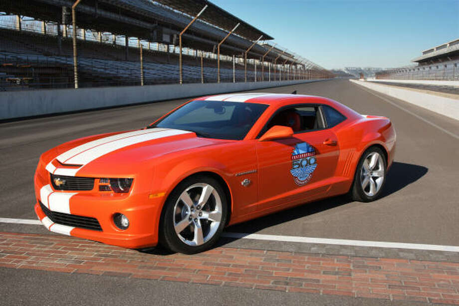 Orange hues, such as this 2010 Chevrolet Camaro in Inferno Orange Borem, have gotten more popular. Photo: GENERAL MOTORS