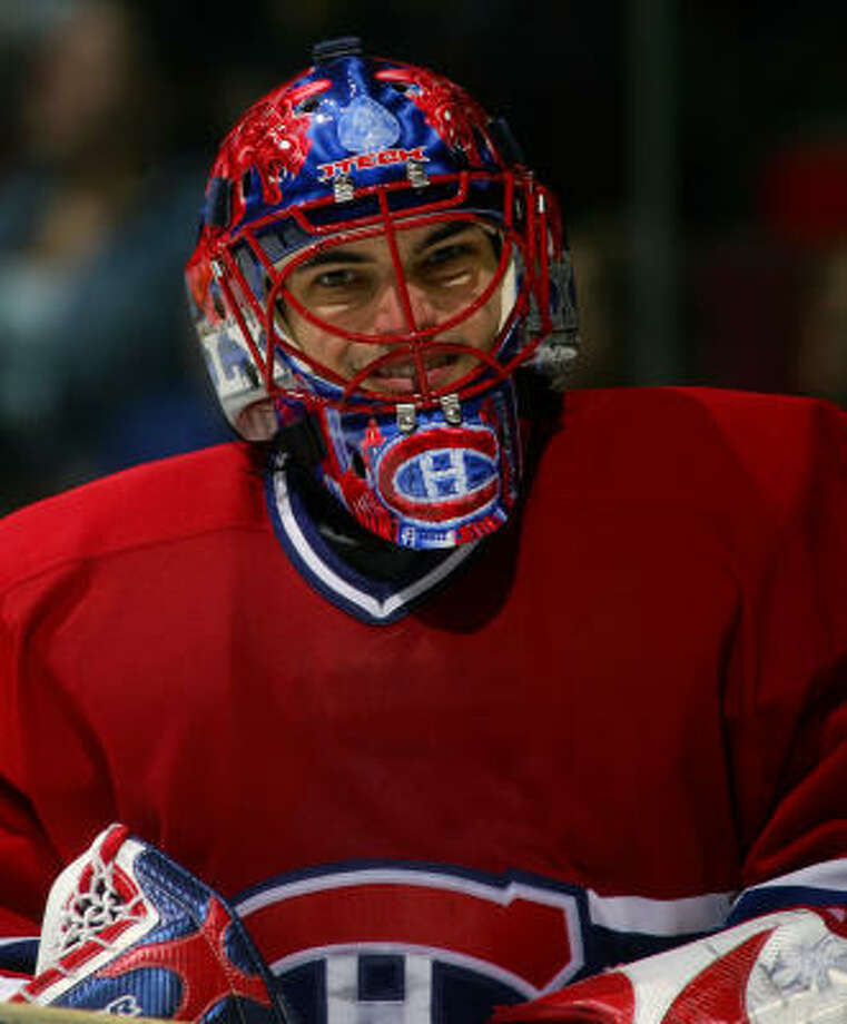 According to a report, the Wild have signed former Montreal Canadiens goaltender Jose Theodore to a one-year deal. Theodore is expected to report to the Aeros on Monday. Photo: Charles Laberge, Getty Images