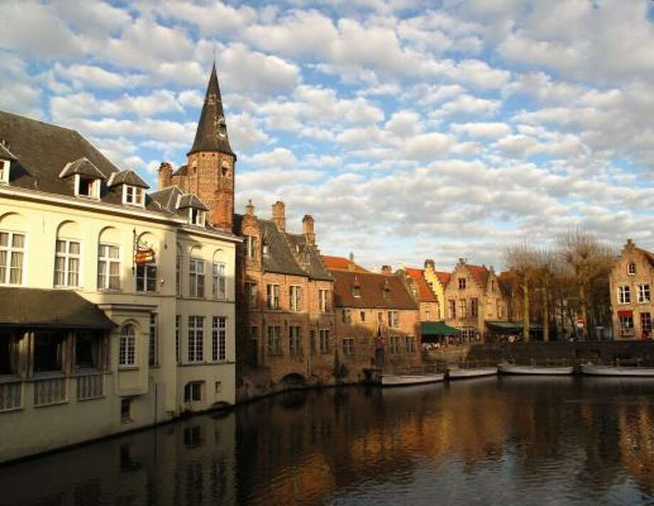 With its scenic network of canals, Bruges, Belgium, is known as the Venice of the North. Photo: Amy Laughinghouse