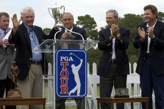 Jack Burke Jr., shown here accepting the PGA Tour Lifetime Achievement Award, will soon receive another honor.