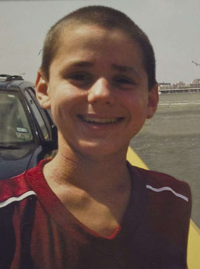 Asher Brown, 13, shot himself in the head at home. Photo: Family Photo