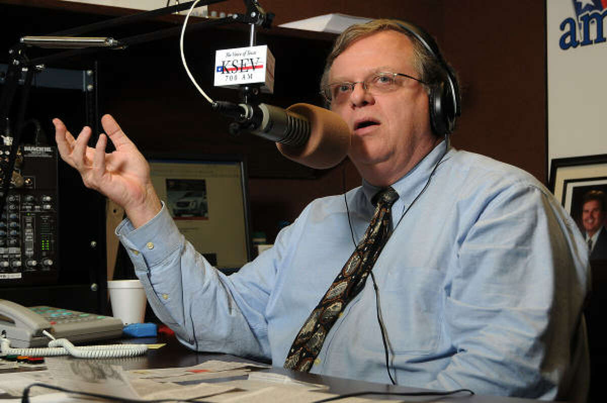 Former Harris County Tax Assessor-Collector Paul Bettencourt is part-owner and host at a conservative radio station.