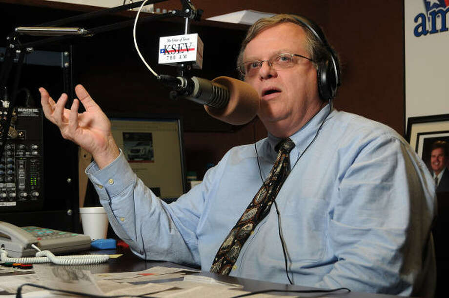 Former Harris County Tax Assessor-Collector Paul Bettencourt is part-owner and host at a conservative radio station. Photo: Dave Rossman, Chronicle