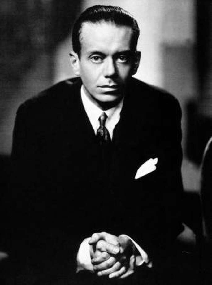 Cole Porter wrote more than 1,500 songs for stage, movies and television, including such standards as Night and Day, Anything Goes and I've Got You Under My Skin. Photo: AP File