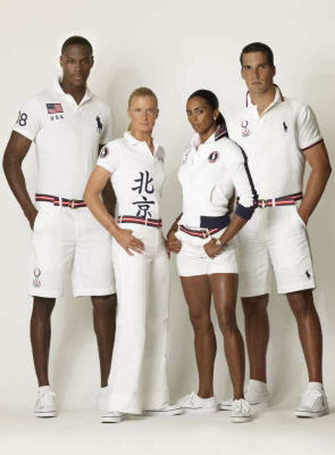 Olympics outfits by Ralph Lauren Photo: Polo Ralph Lauren