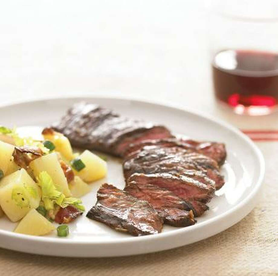 Marinating skirt steak in a balsamic-vinegar mixture is key to this recipe for Balsamic Marinated Skirt Steak. Photo: VICTORIA PEARSON, EVERYDAY FOOD