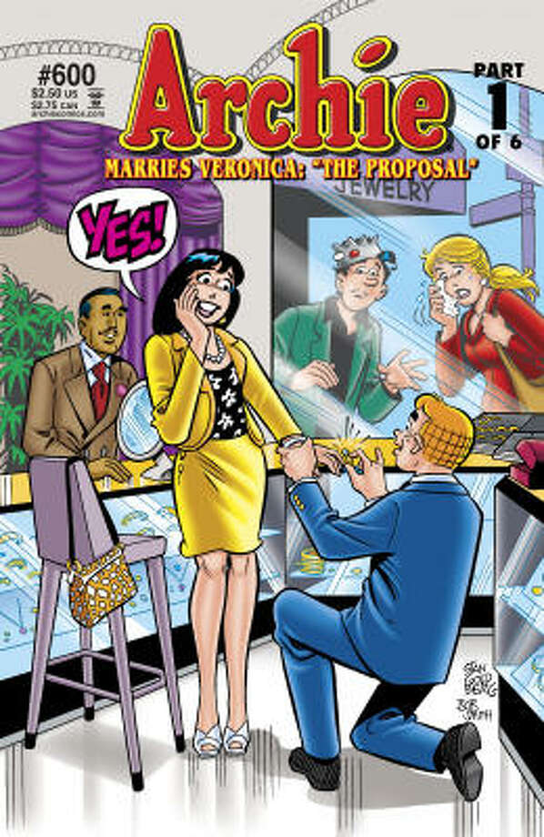 Archie No. 600 Photo: Archie Comic Publications