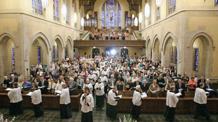 Traditional music, liturgy recalls church history - Houston Chronicle