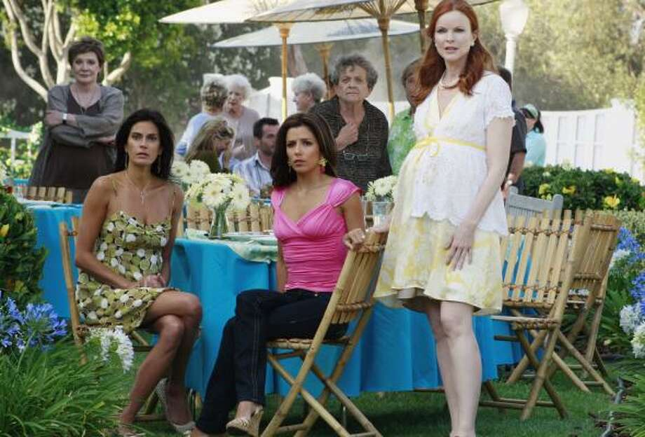 Last Sunday's season premiere of Desperate Housewives registered a 14.7 rating on LPMs (local people meters) and an 11.8 on traditional set meters. Stations are optimistic LPMs will provide a truer test of viewership. Photo: RON TOM, ABC