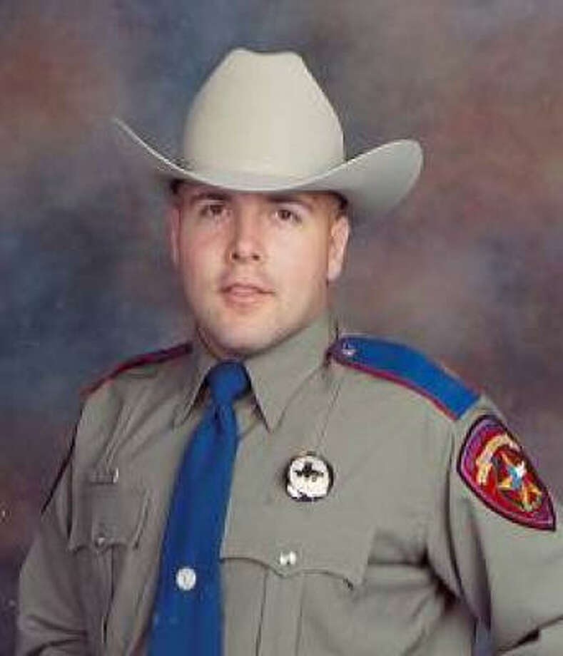 Trooper Todd Holmes, 29, was died March 14 when his patrol car was struck by a tractor-trailer in East Texas. Photo: Texas Department Of Public Safety