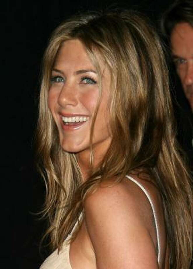 """Actress Jennifer Aniston is the most popular magazine """"face."""" Photo: Mark Davis, Getty Images"""