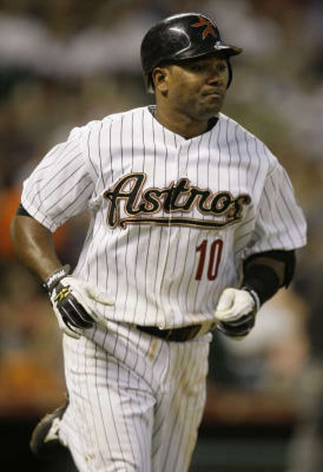 Miguel Tejada is really 33, not 31 as he is listed on baseball records. Photo: Melissa Phillip, Chronicle