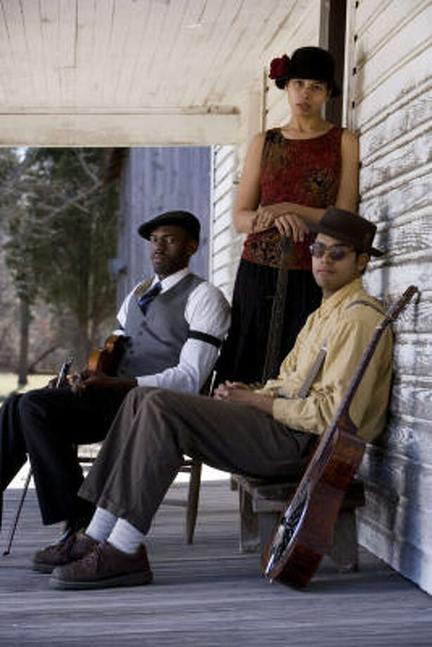 The Carolina Chocolate Drops specialize in string-band music, a genre of music that doesn't include many black musicians. Photo: Jimmy Williams