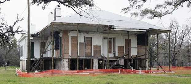 In 2005, Hurricane Katrina badly damaged Beauvoir, which is located on Mississippi beachfront. Photo: Bill Haber, ASSOCIATED PRESS FILE