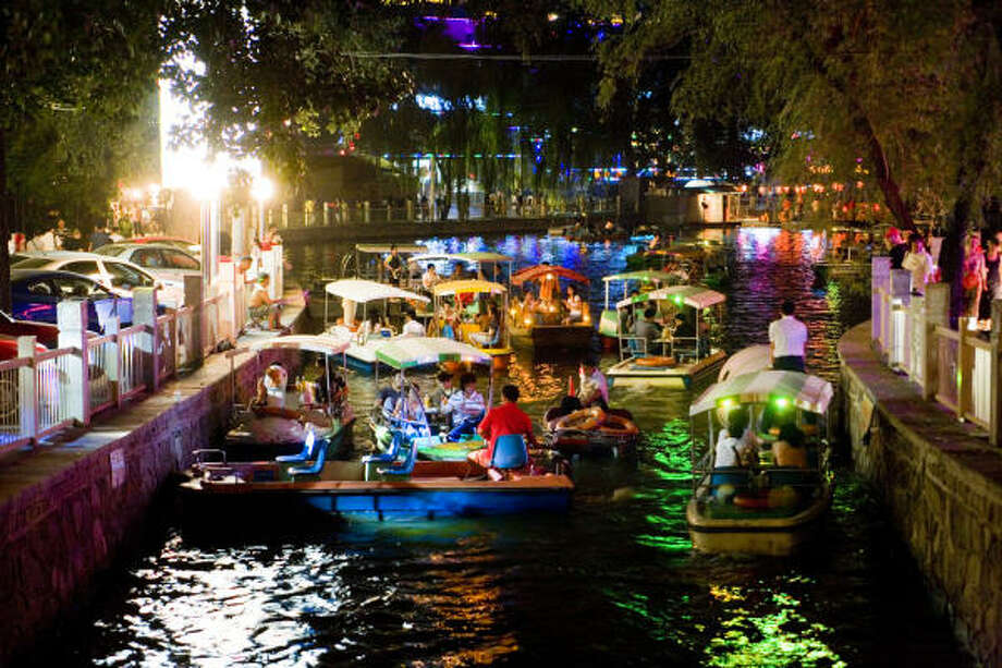 While Beijing savors its Olympics spotlight, check out classic draws like the festive Houhai Lake nightlife district. Photo: Greg Elms, Lonely Planet Images