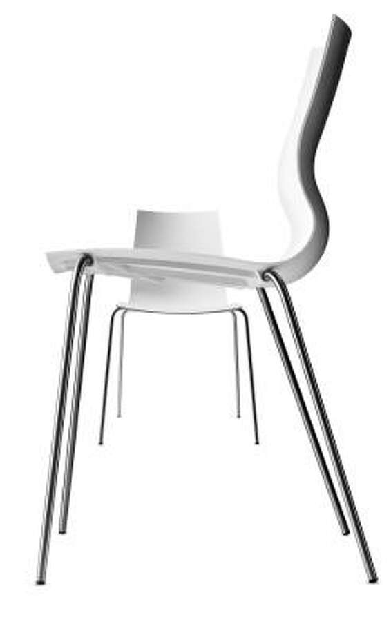 BoConcept One dining chair, designed by Anders Norgaard, is a red dot design award winner 2008. Photo: BoConcept