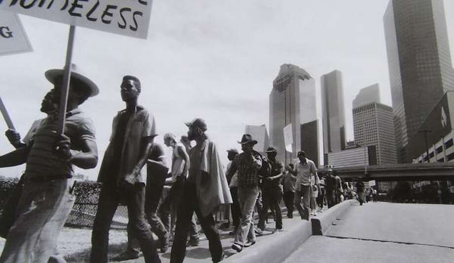 Former Chronicle photographer Ben Tecumseh DeSoto's exhibit, Understanding Poverty, documents the lives of poverty-striken Houston residents. Photo: Ben Tecumseh DeSoto, CHRONICLE FILE