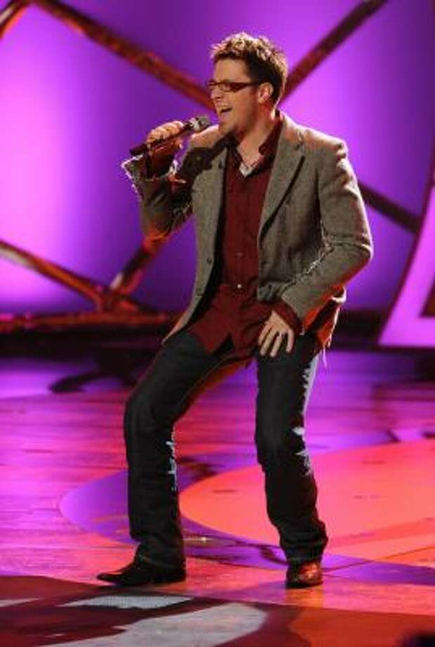 """Danny Gokey is this season's most prominent Christian American Idol contestant. Gokey """"is trusting the Lord,"""" his pastor says. Photo: RAY MICKSHAW, FOX 