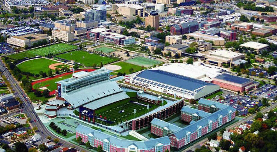 Under Mack Rhoades, Akron athletics had unprecedented growth, including Summa Field at InfoCision Stadium, the $55 million football facility set to open in the fall. Photo: Artist Rendering, University Of Akron