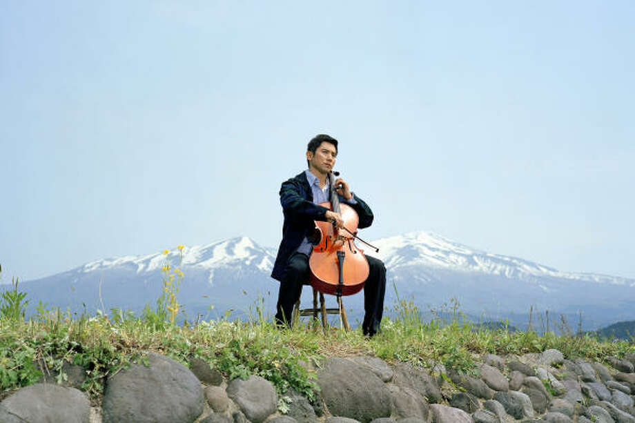 Daigo (Masahiro Motoki) must find a new job after losing his position as a cellist in Departures. Photo: Here Media