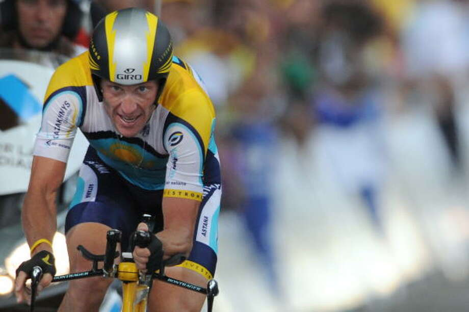 The current Astana rider will be the 38-year-old leader of Team Radio Shack. Photo: PASCAL PAVANI, AFP/Getty Images