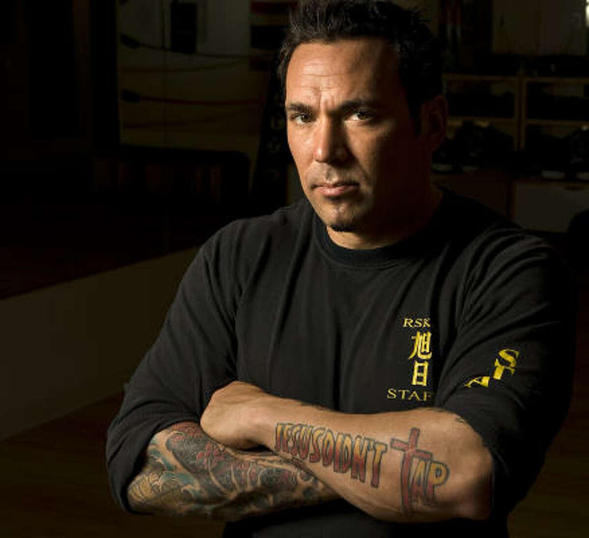 Jason David Frank, owner of Rising Sun Karate