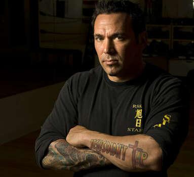 Jason David Frank  owner of Rising Sun Karate Photo  James Nielsen    Jason David Frank Young