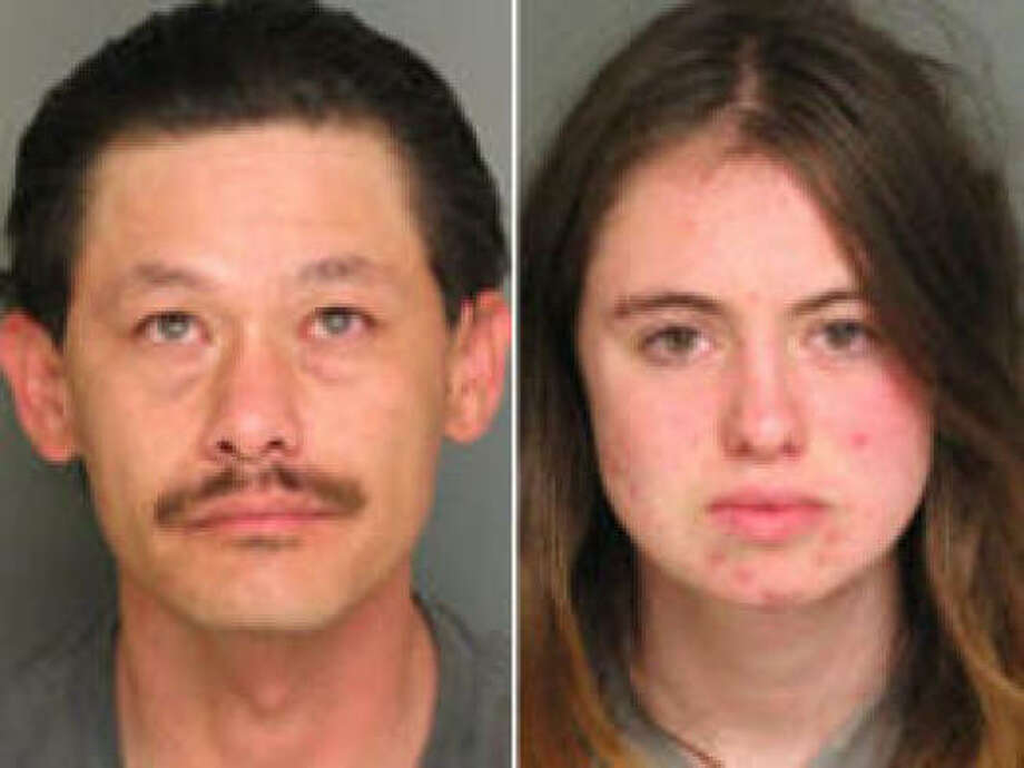 Patrick Fousek and Samantha Tomasini are accused of trying to sell their 6-month-old for $25. Photo: Salinas (Calif.) Police