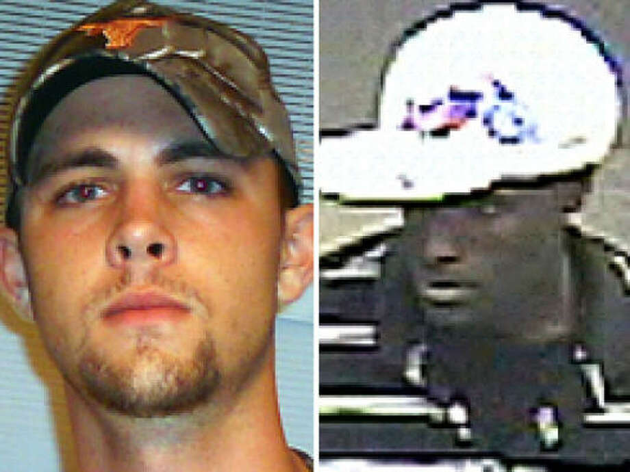The man on the right is wanted in the killing of Sam Irick. Photo: Handout Photos