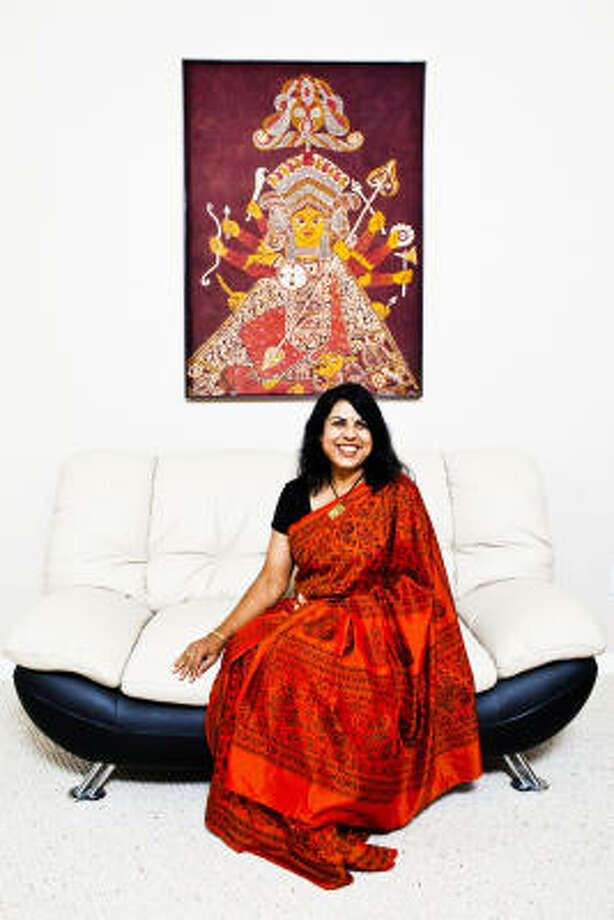 Chitra Divakaruni is an award-winning author and poet who writes about women, immigration, the South Asian experience, history, myth, magic and diversity. Photo: Eric Kayne, For The Chronicle