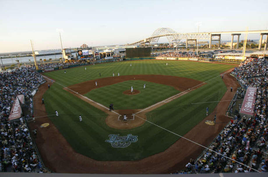 The Dynamo will face FC Dallas at Whataburger Field, which is home to the Astros' Class AA affiliate Hooks. Photo: KAREN WARREN, Chronicle