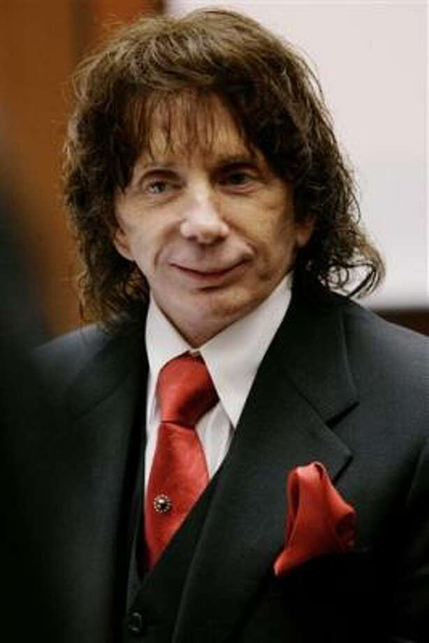 A Los Angeles judge sentenced Phil Spector on Friday to 15 years to life for second-degree murder and four years for personal use of a gun. The judge is also ordering restitution payments. Photo: Nick Ut, Associated Press