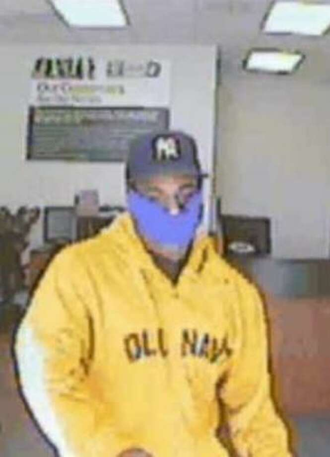 This man is wanted in a northwest Harris County robbery from earlier this month. Photo: Surveillance Photo