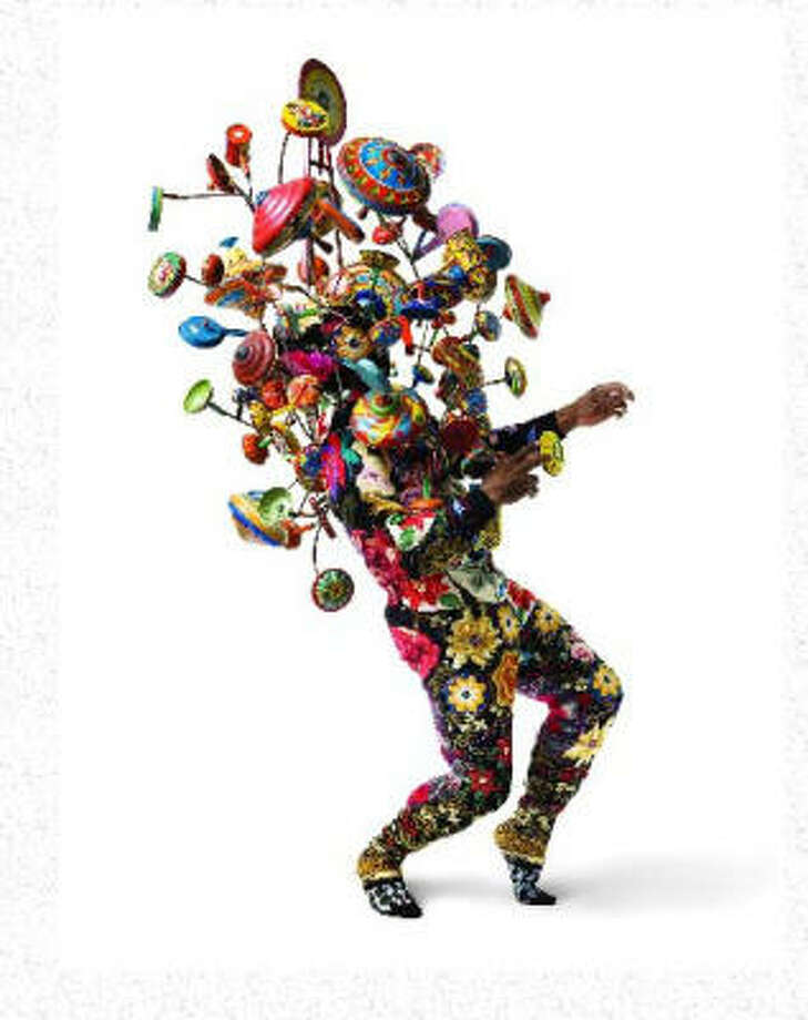 "Nick Cave will lecture and perform in one of his ""soundsuits"" May 27. Photo: Jack Shainman Gallery"