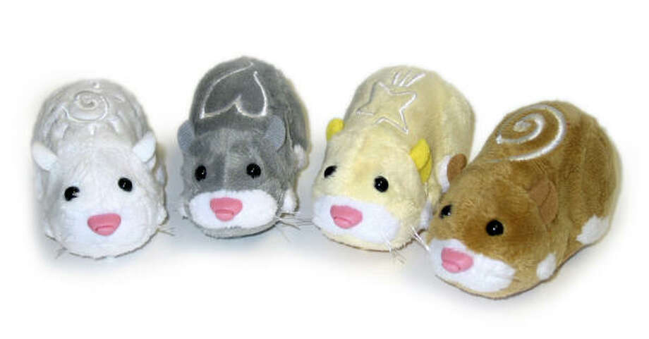 The Zhu Zhu Pets Hamsters is on Toys R Us' 2009 holiday hot toy list. Photo: Associated Press
