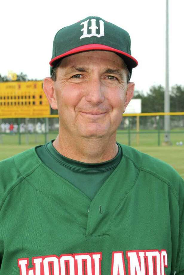 The Woodlands head baseball coach Ron Eastman Photo: Jerry Baker, Freelance / Freelance