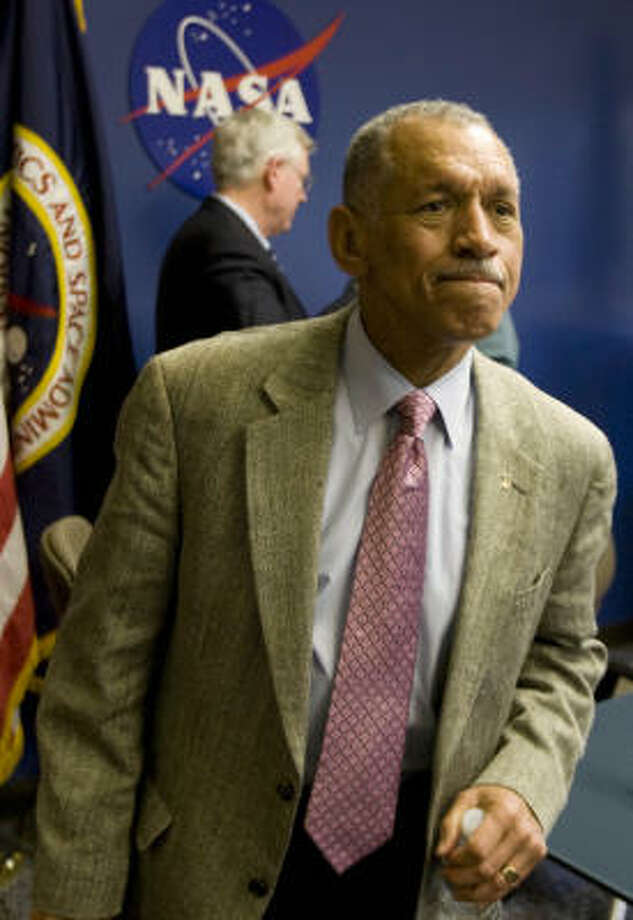 Charles Bolden's visit to China this weekend worries some in Congress. Photo: Brett Coomer, Chronicle