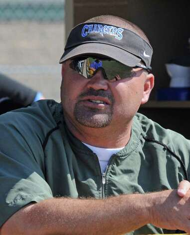 Clear Springs Chargers football head coach Clint Hartman on 5-13-11. Photo: L. Scott Hainline / freelance