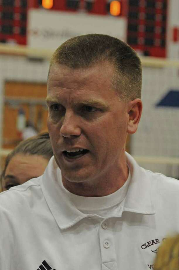 Clear Creek volleyball coach Scott Simonds will be in his eighth season as head coach with the Lady Wildcats in 2011. Photo: L. Scott Hainline / freelance