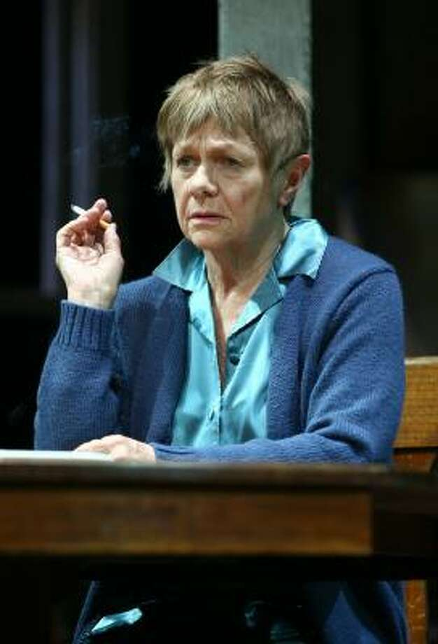 Oscar winner Estelle Parsons, who recently assumed the role of Violet, gives a strong performance in August: Osage County, playing at Broadway's Music Box Theatre. Photo: Joan Marcus, MUSIC BOX THEATRE