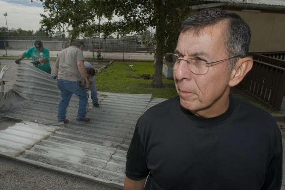 Unused sick time accounts for some of Abelardo Saavedra's big payout. Photo: Steve Ueckert, Chronicle