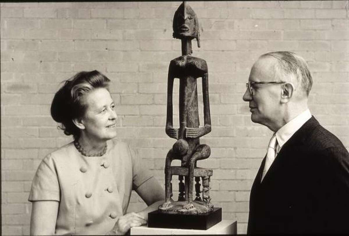 Dominique and John de Menil, circa 1967.