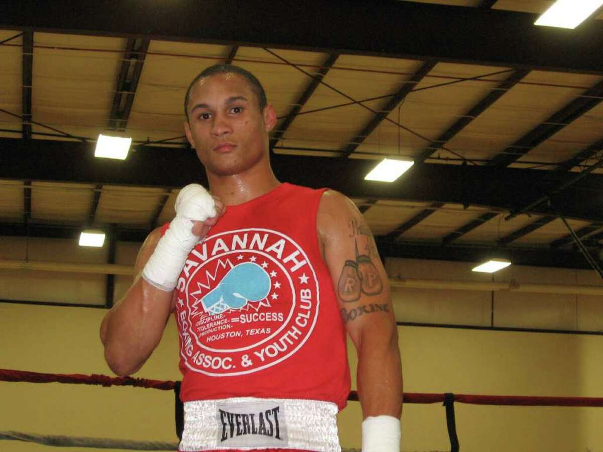 Regis Prograis, shown here in 2011 at Houston's famous Savannah Boxing Gym, a year before making his professional debut.