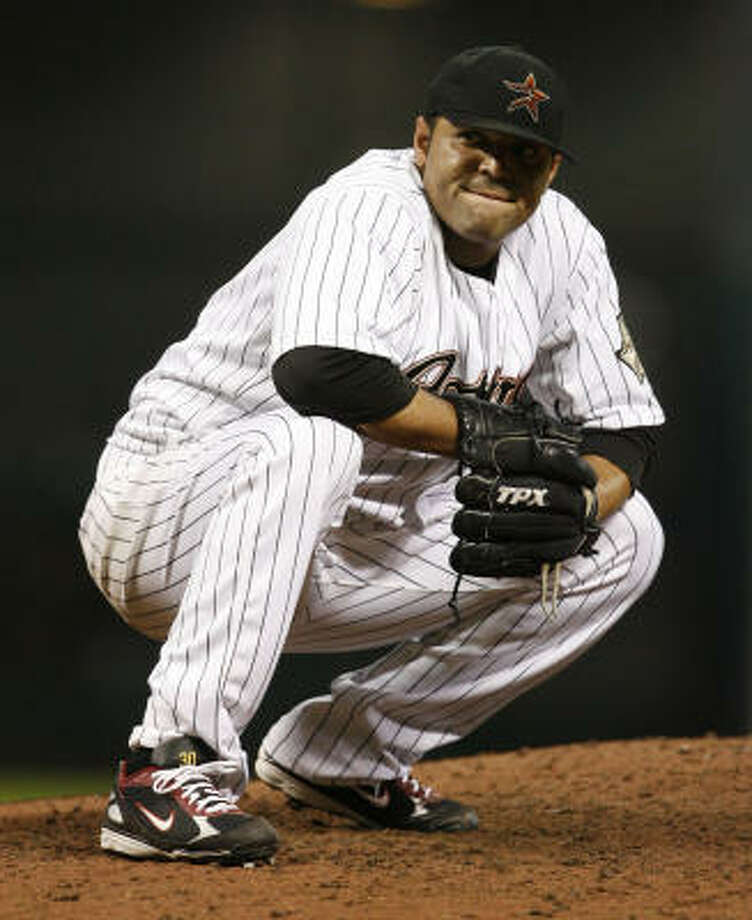 The Astros requested waivers Thursday for the purposes of releasing Shawn Chacon. Photo: Karen Warren, Houston Chronicle