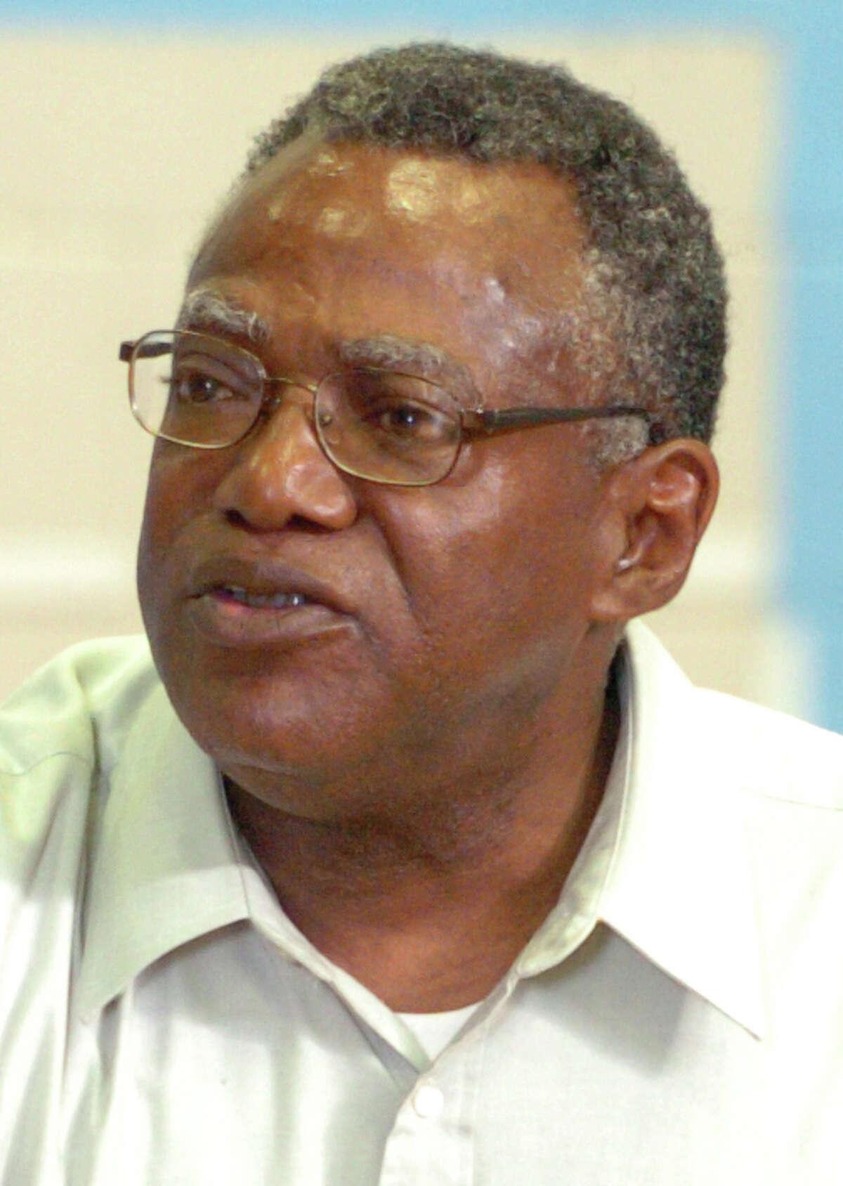 Former Bridgeport Board of Education member Bobby Simmons